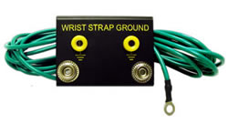 ESD & Static Control Ground Cords & Hardware - Bench Mount Dual Common Point Ground System